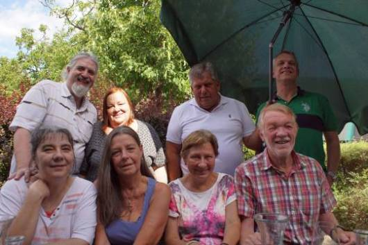 Tarock-Treffen beim Heurigen in Wien